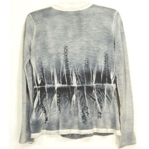 Piazza Sempione Sweaters - Piazza Sempione sweater SM cardigan gray abstract